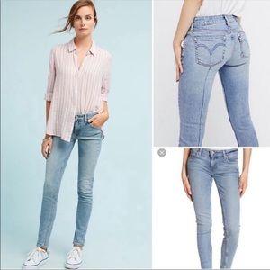 Levi's | Altered 711 Skinny Jeans Light Wash